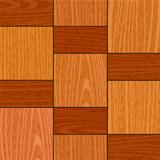 seamless old light oak square parquet panel wall texture