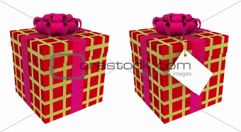 Two beautiful gift boxes