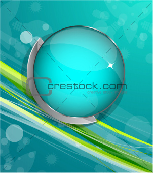 Green vector lines