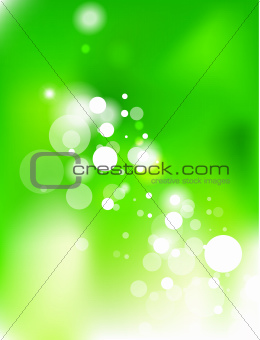 Green energy abstract background