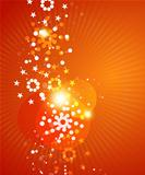 Shiny Christmas abstract background