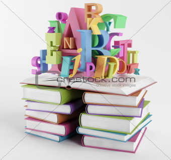 Alphabet and books