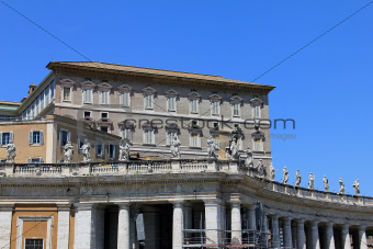 Residence of the Pope in Vatican