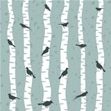 Bird on a birch