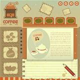 Coffee Vintage Web Design
