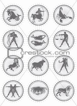 Zodiac Stamp