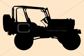 Jeep silhouette