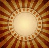 Brown grunge light rays background