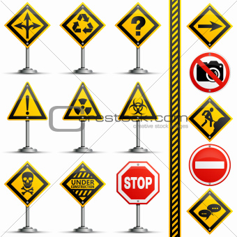 Collection Road Signs