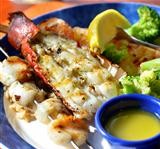 lobster Shrimps And Scallops