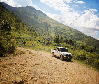Off Road Track Central America