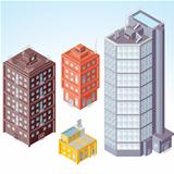 Isometric Buildings #1