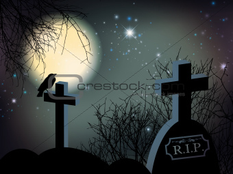 Night at Graveyard