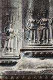 cambodia ancient khmer temple stone carvings angkor wat