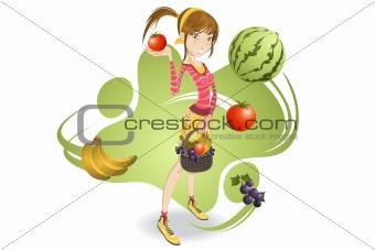 Vegetarian Girl