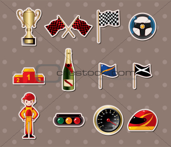 f1 racing stickers