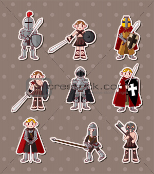 knight stickers