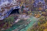 Plitvice lakes National park cave