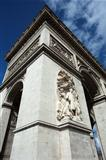 Arc de Triomphe, Place Charles de Gaulle, Paris, France