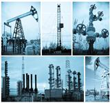 Oil industry. Oil extraction.