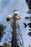 Mobile phone transmitter