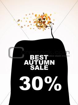 autumn discount sale