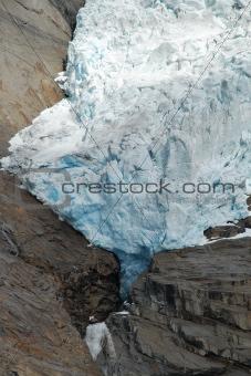 Briksdalsbreen Glacier in Jostedalsbreen, Norway