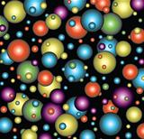 vector background of bubbles