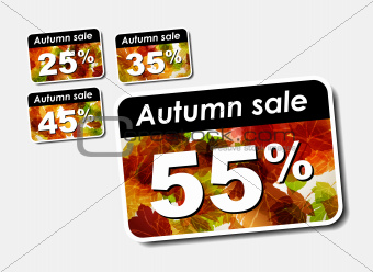 autumn discount sale