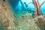 Shipwreck underwater