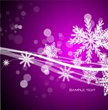 vector purple Christmas background