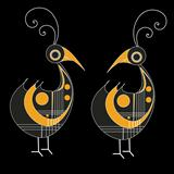 Two Vector Birds