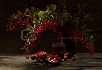 granat and  barberry