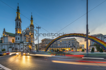 Church of the Holy Saviour  in Warsaw, Poland