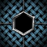 Business Hexagon Grunge Background