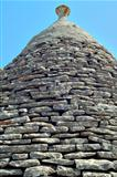Detail of the cover of a trullo