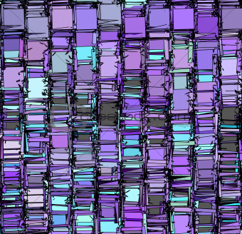 abstract fragmented backdrop pattern in blue purple gray