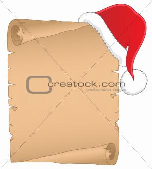 Christmas theme parchment 1
