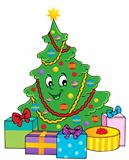 Christmas tree theme 1