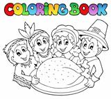 Coloring book Thanksgiving image 3