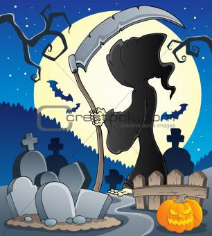 Grim reaper theme image 2