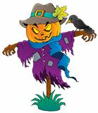 Halloween scarecrow theme image 1
