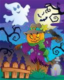 Halloween scarecrow theme image 2