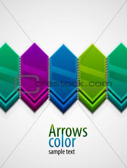 Arrow background