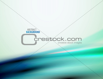 Abstract flowing smooth wave background