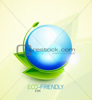 Green concept icon