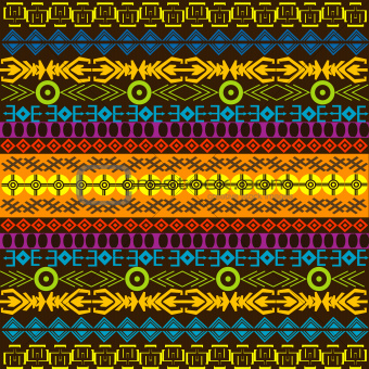 African colored background