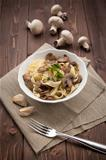 Tagliatelle ai funghi - Noodles with mushroom