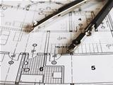 Dividers on architectural plan