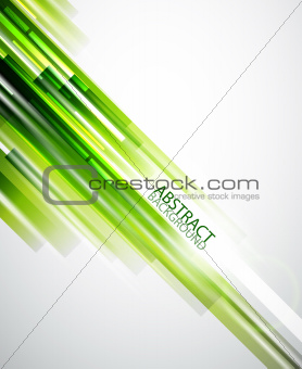 Abstract green lines background